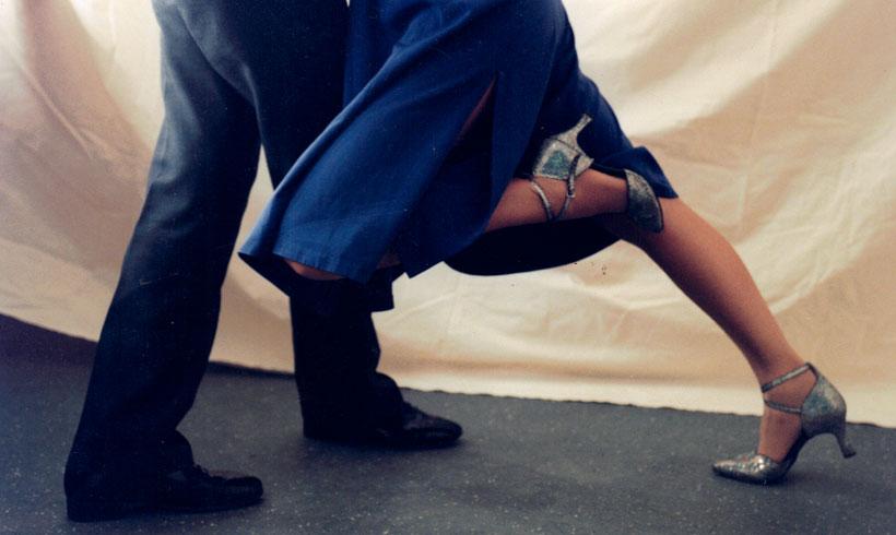 Jambe de danseur de tango