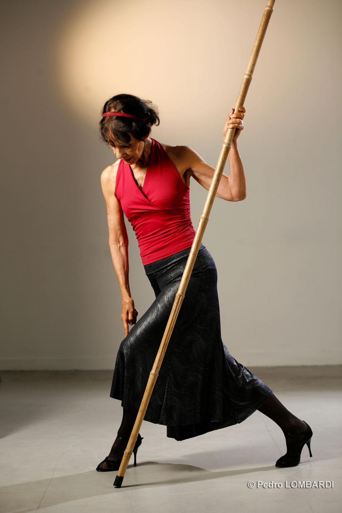 Carmen Aguiar Danseuse de tango