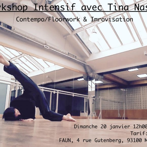 Workshop avec Tina Nasika
