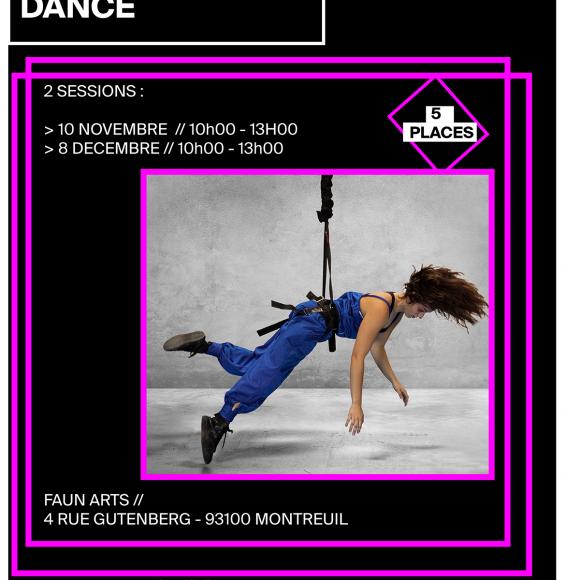 Stage – Danse aérienne avec bungees