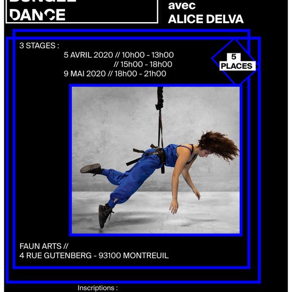 Stage – Danse aérienne avec bungees #4